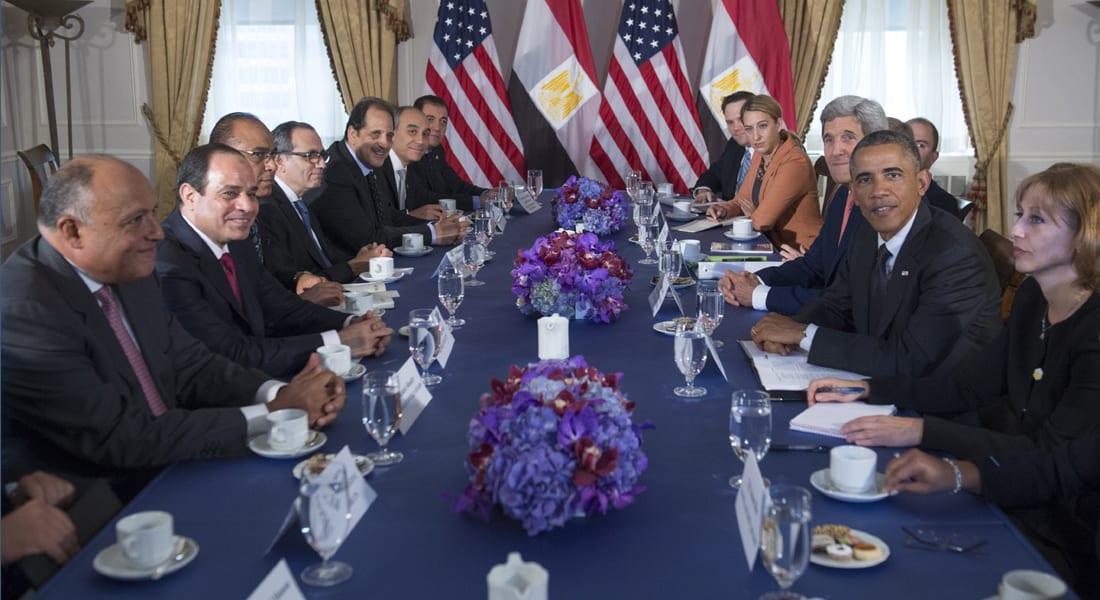 ما الذي دار في أول قمة بين أوباما والسيسي في نيويورك؟