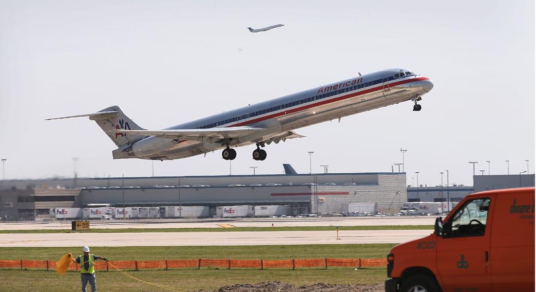 حريق يوقف الحركة في ثاني أكثر مطارات العالم ازدحاماً بشيكاغو