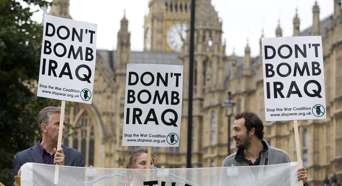 """البرلمان البريطاني يصوت بالمشاركة في التحالف الدولي لمحاربة """"داعش"""" بالعراق"""
