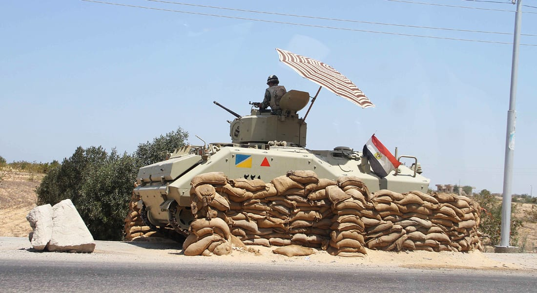 """مصر.. مقتل 16 بينهم قياديون بـ""""أنصار بيت المقدس"""" في حملة للجيش بشمال سيناء"""