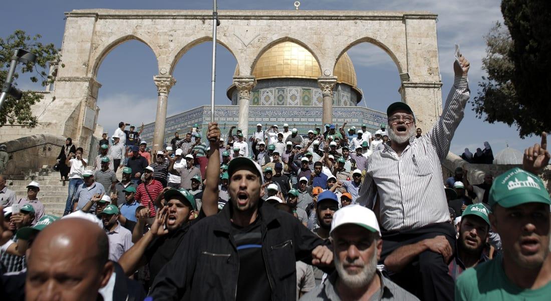 مصادمات بالأقصى.. وتحذير فلسطيني أردني لإسرائيل من تحويل الصراع السياسي إلى ديني