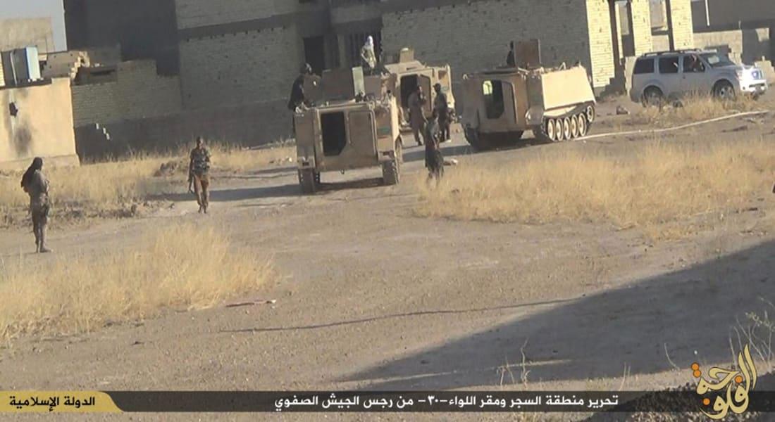 رئيس مجلس محافظة الانبار لـCNN: داعش أرسل نحو 10000 مقاتل من سوريا والموصل إلى الأنبار