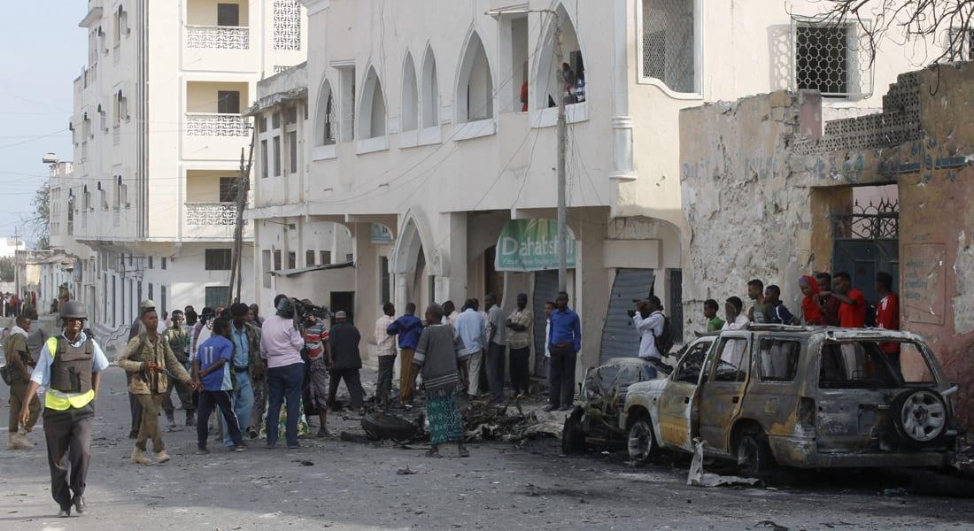 الصومال: مقتل 7 على الأقل بانفجار سيارة مفخخة خارج مطعم مشهور