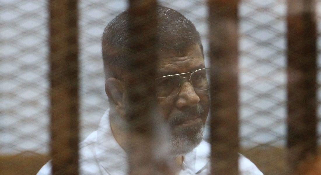 """مصر.. تأجيل محاكمة مرسي و14 متهماً بقضية """"أحداث الاتحادية"""" للخميس 16 أكتوبر"""