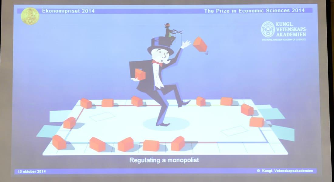 """الفرنسي جان تيرول صاحب نظرية """"قوة السوق"""" يفوز بجائزة نوبل للاقتصاد"""