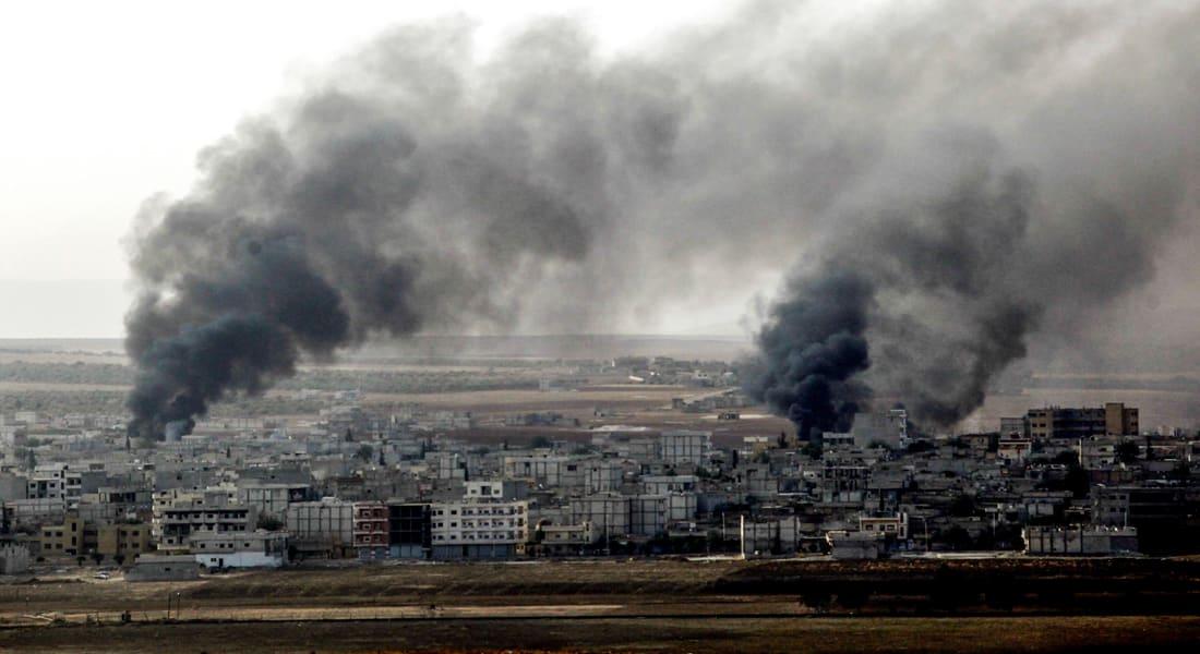 """""""كوباني"""" تحت القصف.. سلسلة تفجيرات تستهدف مواقع """"داعش"""" وسط تقدم للوحدات الكردية"""