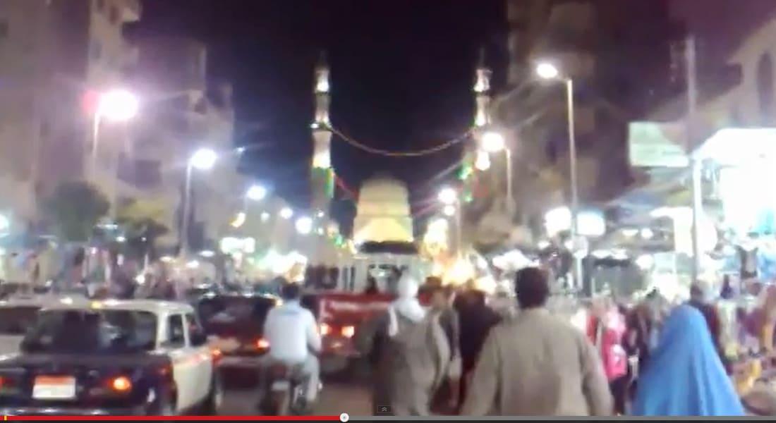 مصر.. 11 جريحاً في تفجير مزدوج استهدف احتفالاً دينياً بطنطا