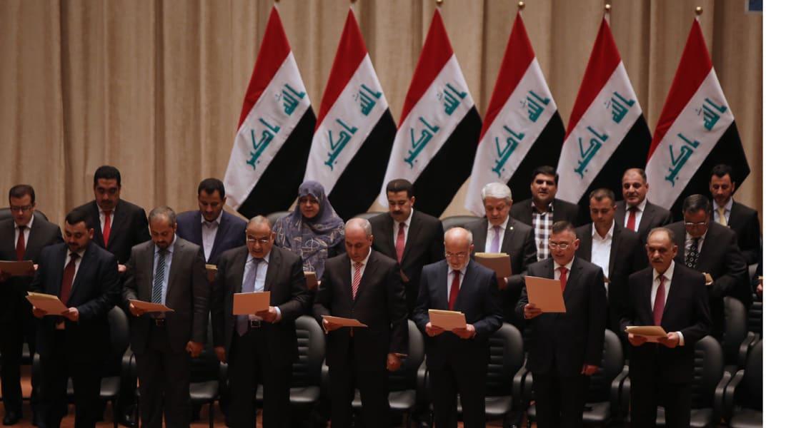 البرلمان العراقي يملأ فراغ حكومة العبادي ويمنح الثقة لوزراء الدفاع والداخلية والمالية