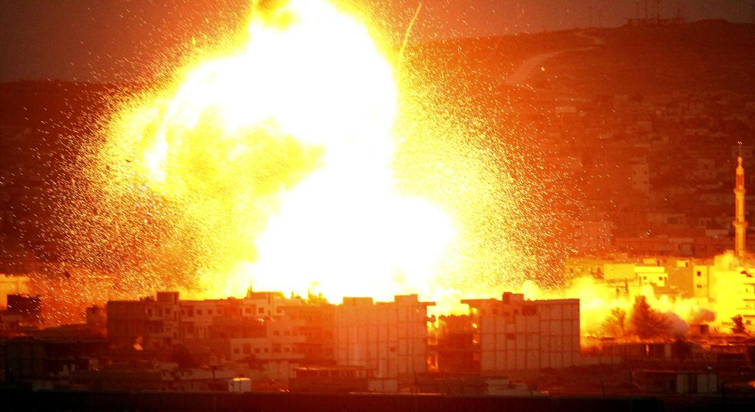 المرصد: 70 جثة لعناصر بداعش قتلوا باشتباكات كوباني خلال 4 أيام