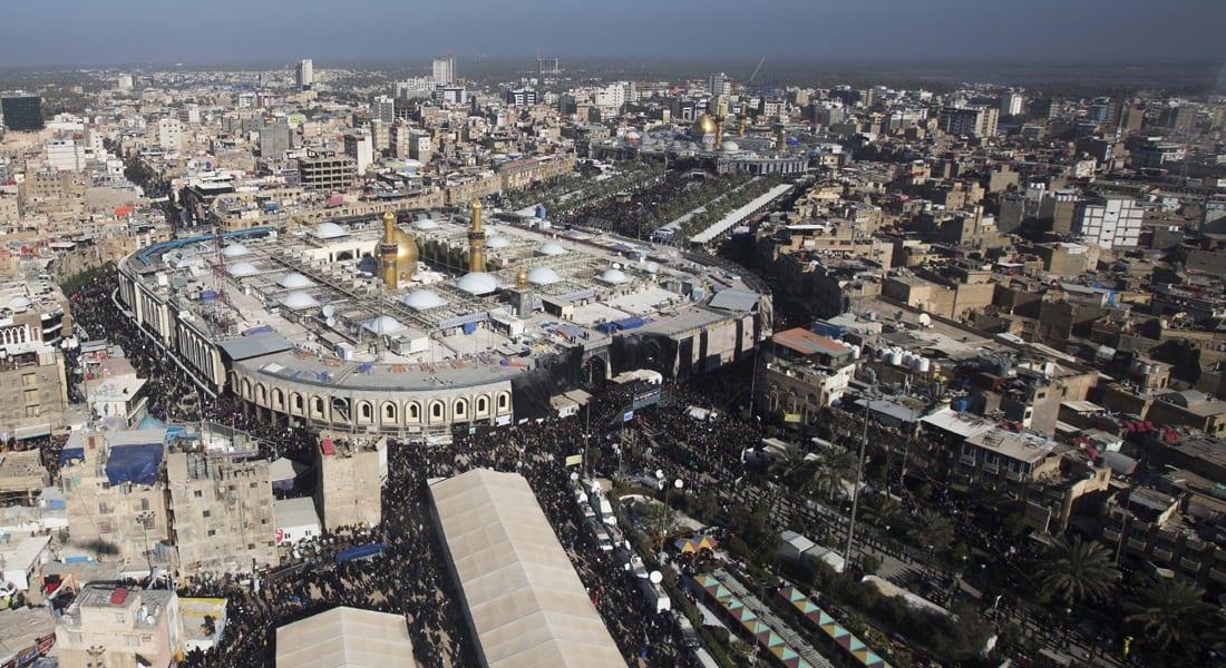 العراق: تفجير سيارتين مفخختين بكربلاء وتفجير انتحاري بمسجد للشيعة ببغداد