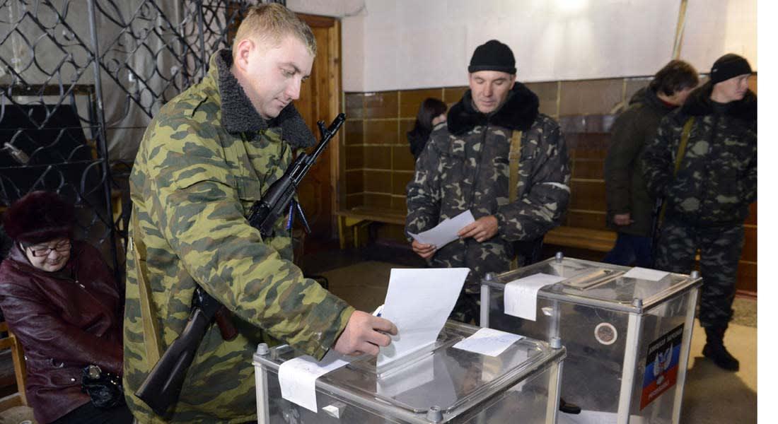 """أوكرانيا .. انتخابات في مناطق """"الانفصاليين"""" بتشجيع موسكو واستياء واشنطن وكييف"""