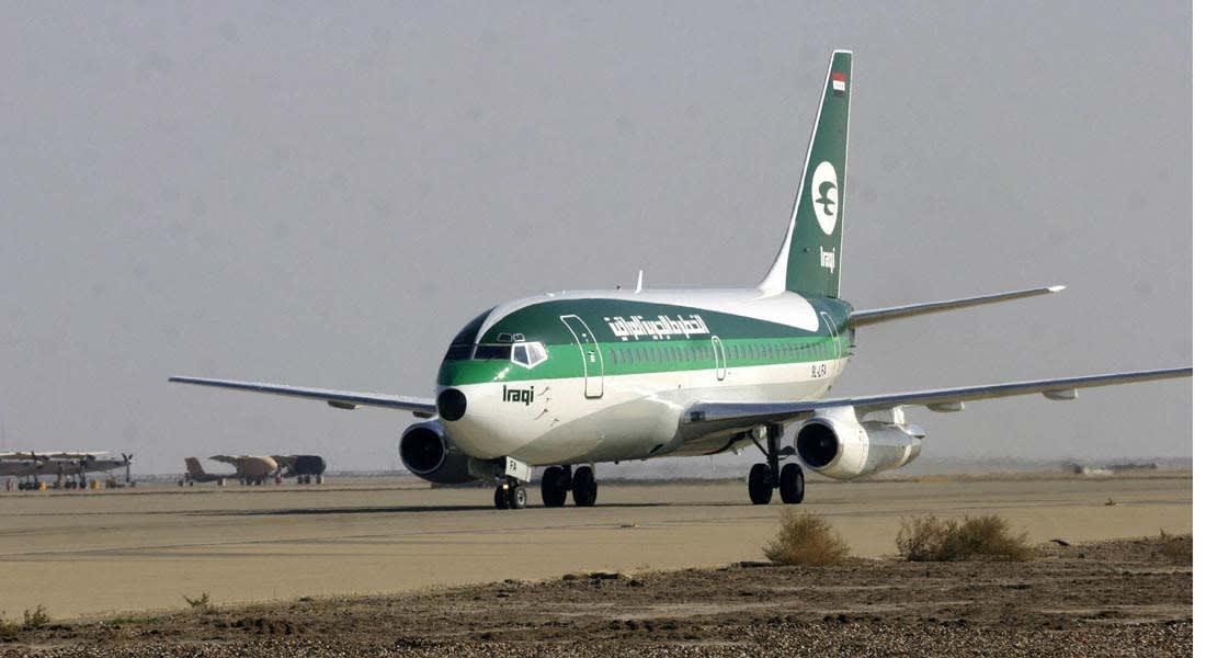 """تعديل مسارات الطائرات بالعراق وناقلات جوية توقف رحلاتها """"حتى إشعار آخر"""""""