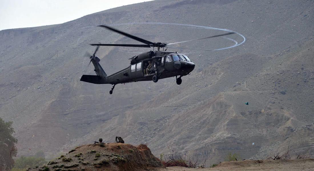 الناتو: مصرع 5 جنود بتحطم مروحية جنوبي أفغانستان