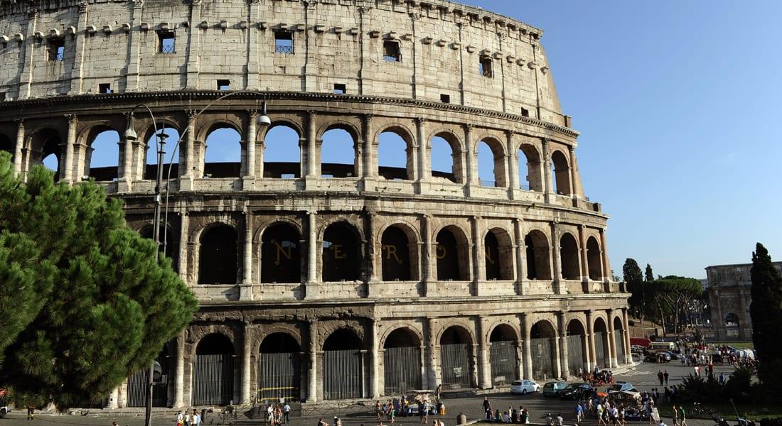 ماركات الأزياء الايطالية المشهورة تحيي المواقع الأثرية في روما