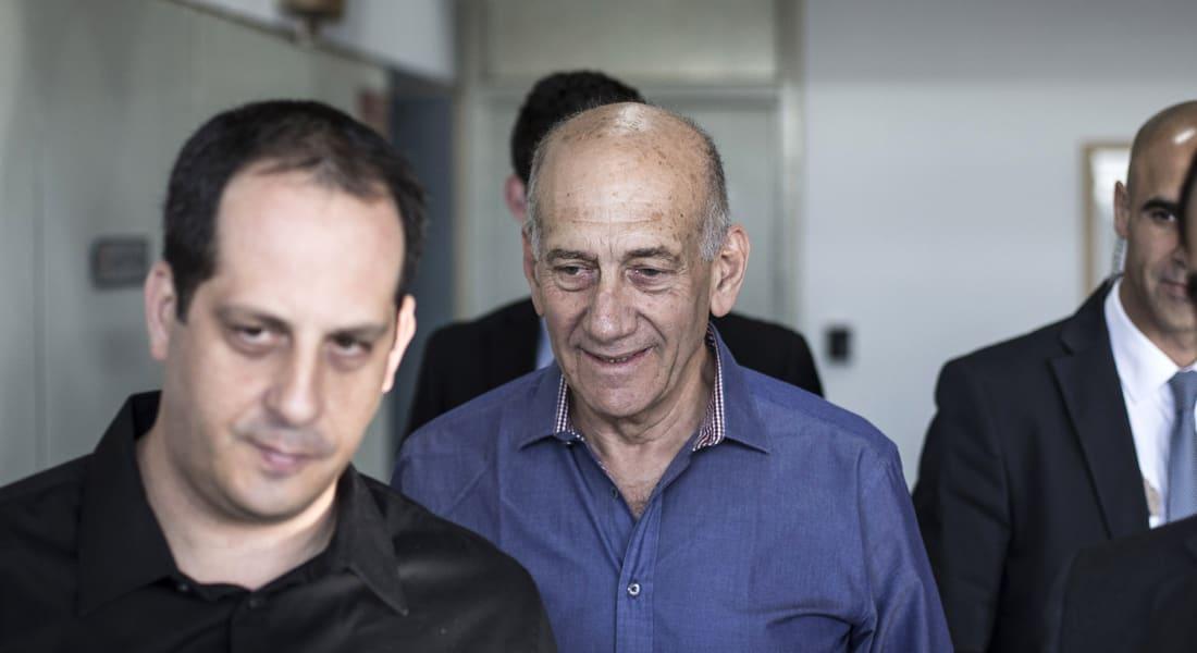 السجن 6 سنوات لرئيس الحكومة الإسرائيلي السابق بقضية فساد