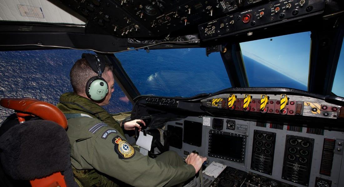"""الطائرة الماليزية: كشف بيانات """"المصافحة"""" .. و""""الزعنفة الزرقاء"""" تتوقف الأربعاء"""