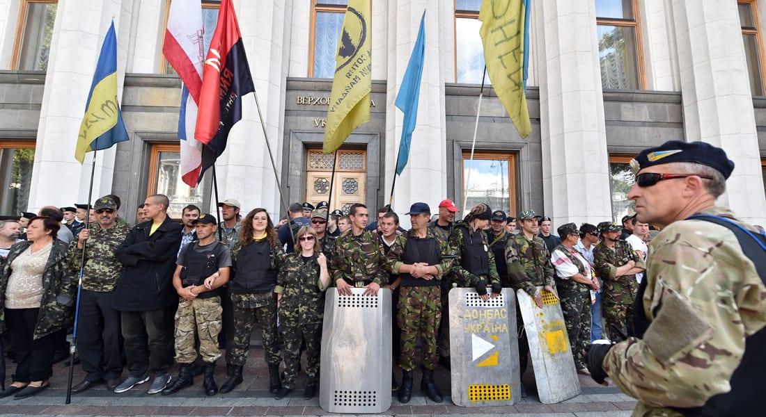بوتين يناقش مع الرئيس الأوكراني امكانية وقف إطلاق النار بشرق أوكرانيا