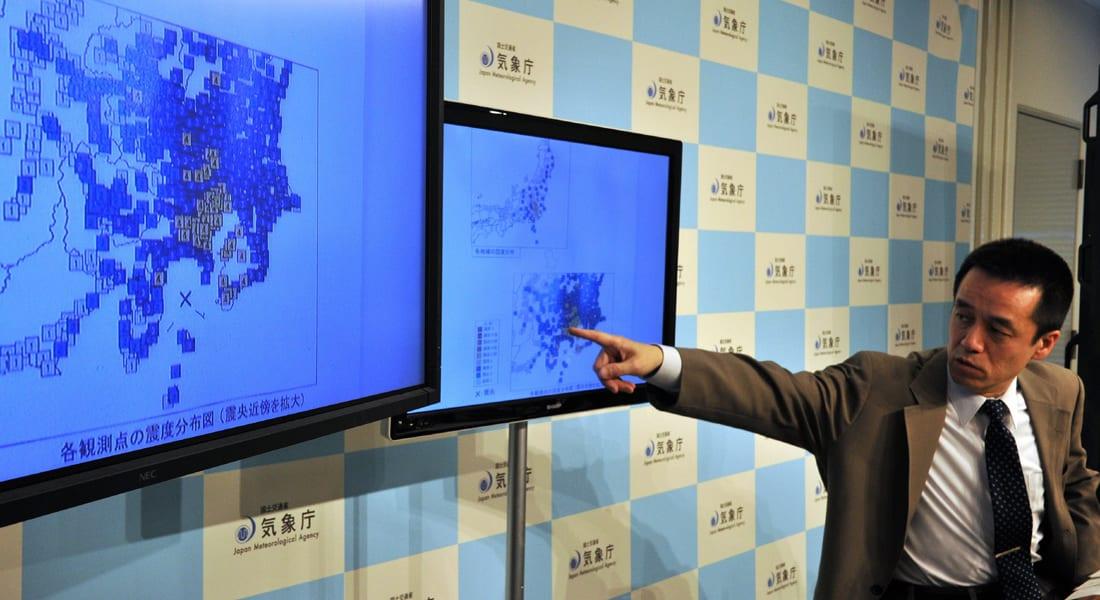 اليابان تحذر سكان السواحل من تسونامي بعد هزة بقوة 6.8 درجة