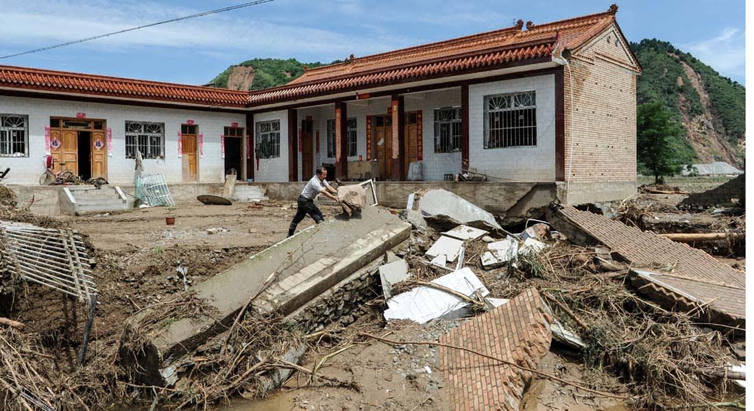 الصين: ارتفاع حصيلة الهزة الأرضية إلى 376 قتيلا وتدمير 12000 منزل