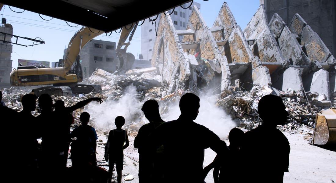"""مصر تعلن التوصل إلى اتفاق """"هدنة"""" بقطاع غزة اعتباراً من 7 مساء الثلاثاء"""