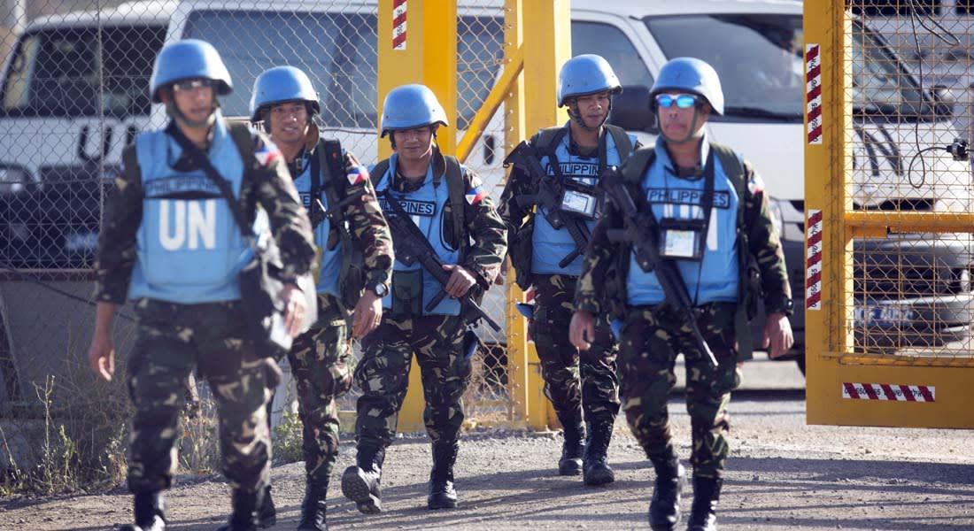"""الأمم المتحدة: 44 من جنودنا محتجزون لدى """"جبهة النصرة"""" و 72 حركتهم مقيّدة"""