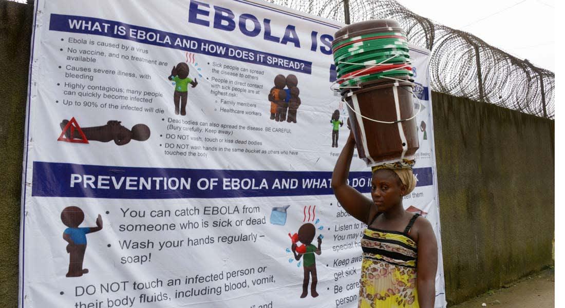 """""""الصحة العالمية"""" تحدد 6 دول معرضة لخطر انتشار """"إيبولا"""""""