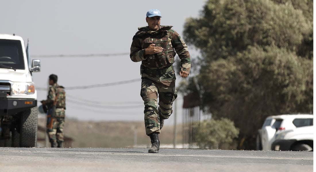 قوات حفظ السلام بالجولان تخوض اشتباكات مع الجماعات المسلحة