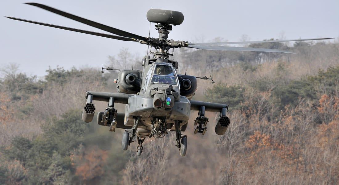 البنتاغون يخطر الكونغرس ببيع 24 أباتشي إلى العراق لمواجهة الإرهاب
