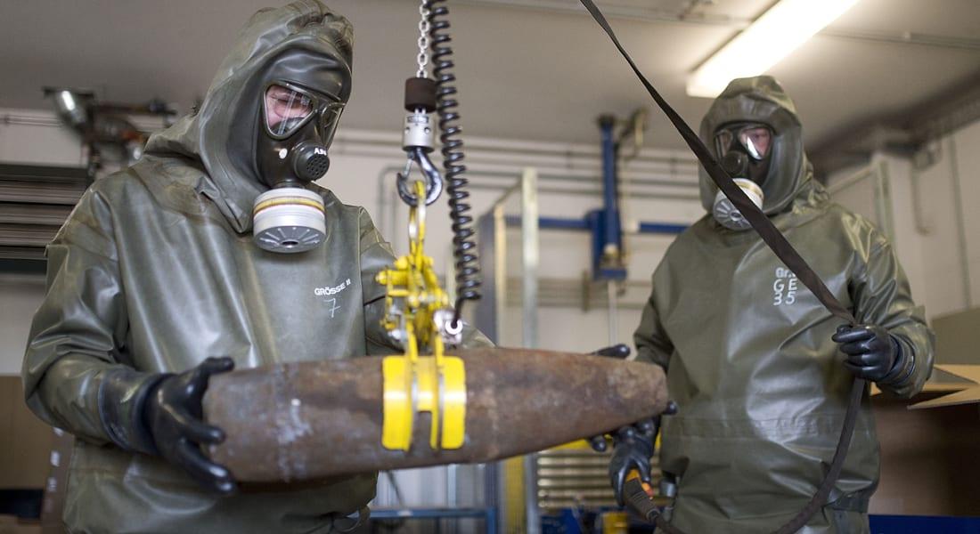 حظر الكيماوي: سوريا دمرت أو تخلصت من 86% من ترسانتها الكيماوية