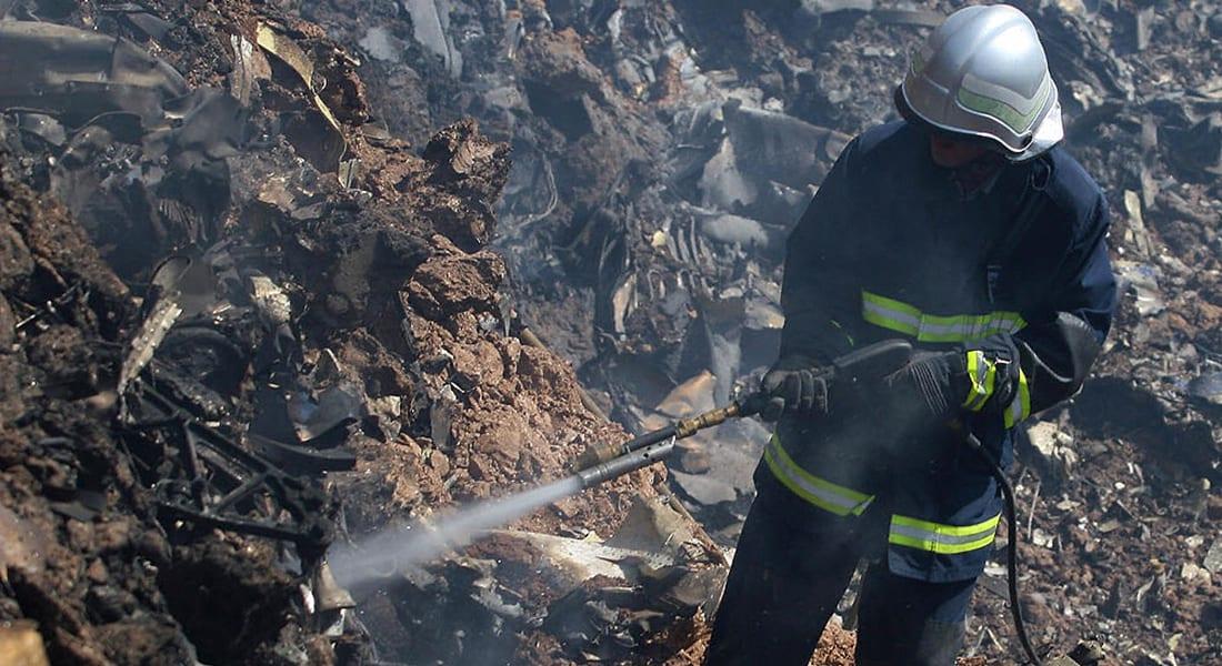 """إيران: حريق """"خارج عن السيطرة"""" بانفجار بمخزن للنفط شمال البلاد"""