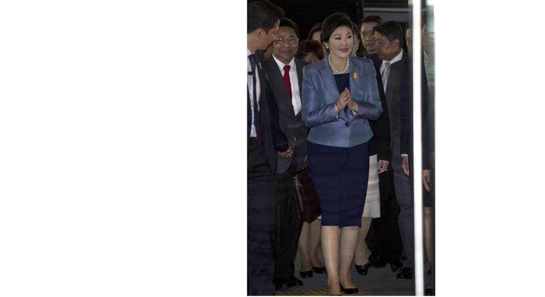 عزل رئيسة وزراء تايلند بعد إدانتها من المحكمة الدستورية