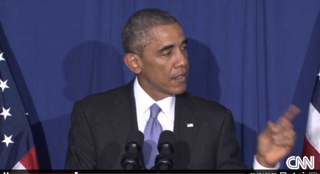 أوباما في موقف محرج بمطعم فاخر: رفضت بطاقتي الائتمانية