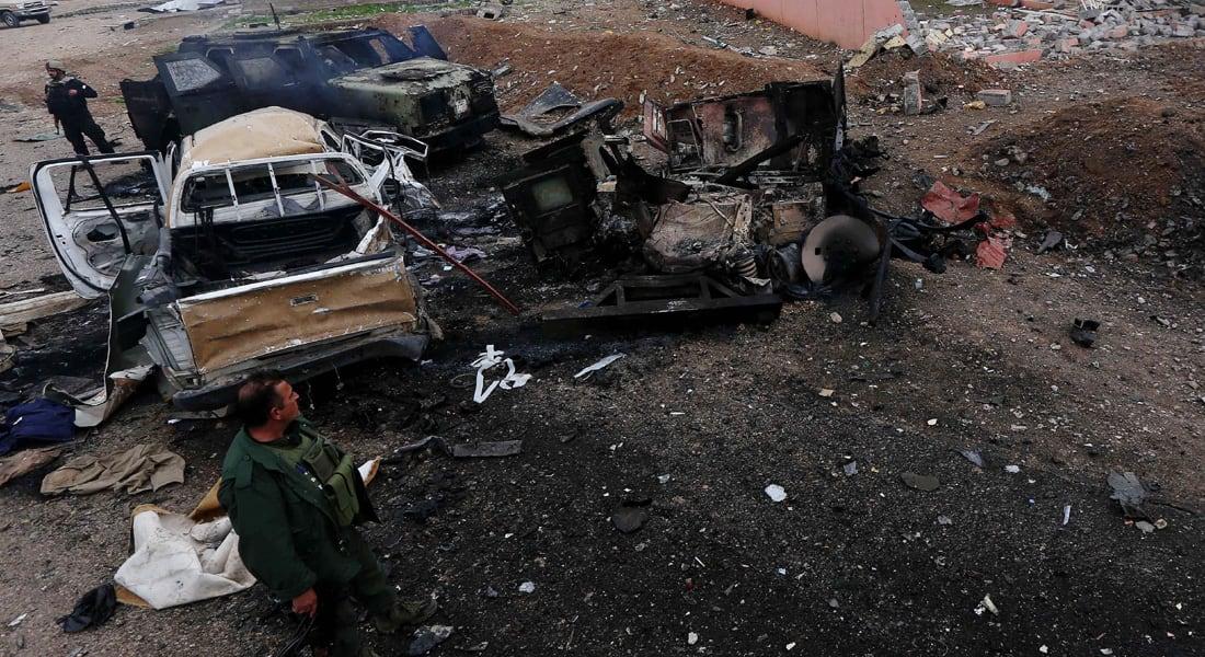 العراق: 38 قتيلاً و56 جريحاً بتفجير انتحاري استهدف عناصر الصحوة في بغداد