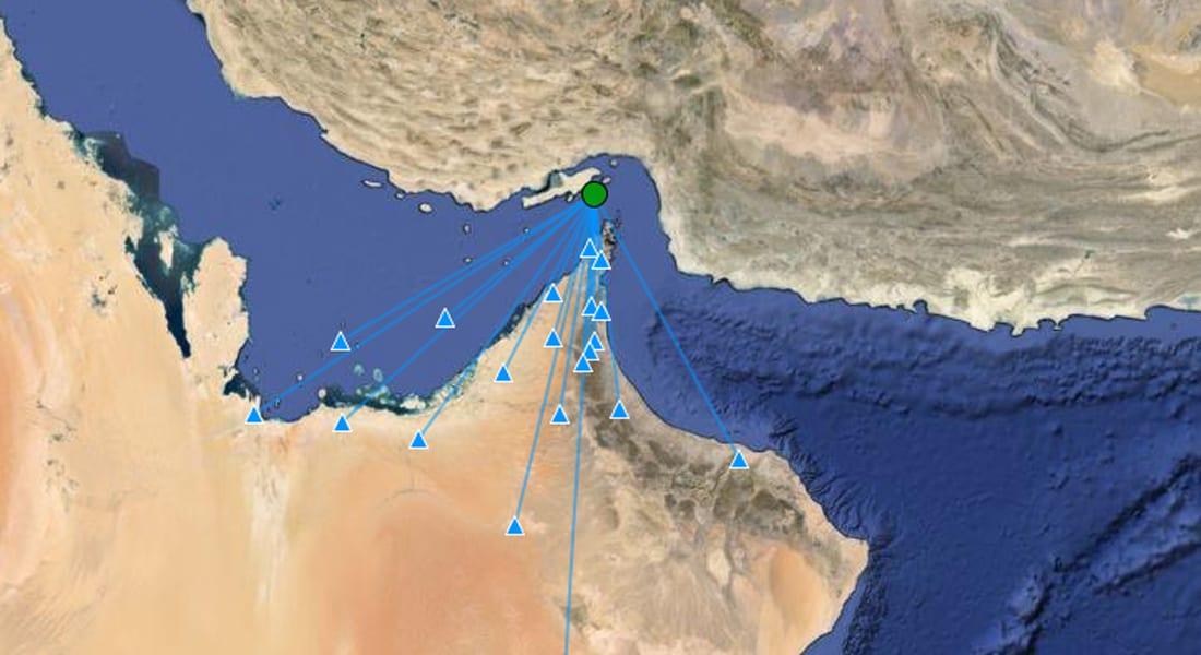 إخلاء مبان في الإمارات إثر هزة في إيران