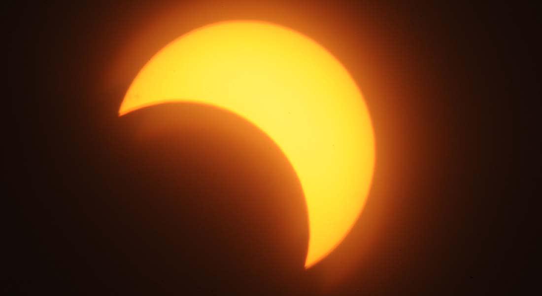 كسوف جزئي للشمس مع بداية السنة الهجرية الجديدة