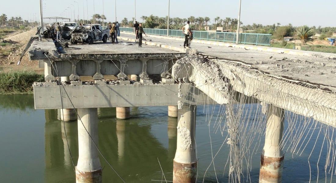 """""""داعش"""" ينسف جسرا في """"نينوى"""" والعثور على 10 منازل مفخخة و86 عبوة ناسفة"""