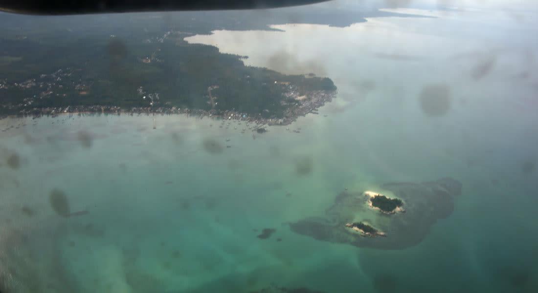 """البحث عن رحلة """"طيران آسيا"""": سفينة ترصد جزئيين معدنيين ببحر جاوة"""