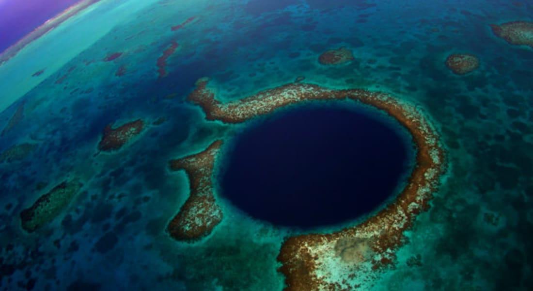 """""""الثقب الأزرق""""... ربما الدليل على أسباب اندثار حضارة المايا"""