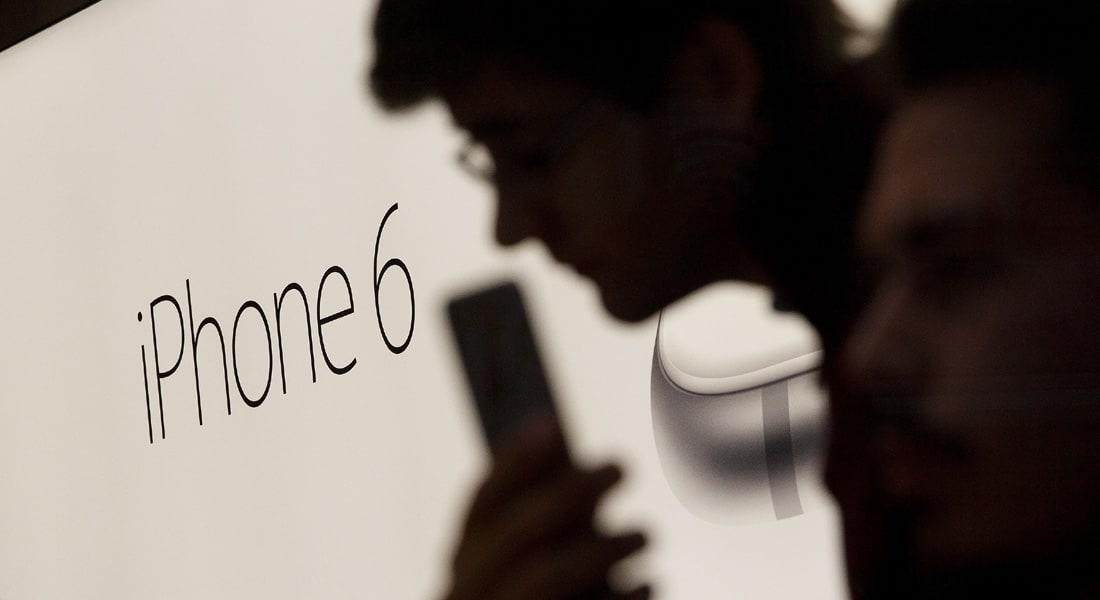 """مطالبة """"آبل"""" بتعويض قدره 5 ملايين دولار بسبب السعة التخزينية لـ""""آي فون 6"""""""