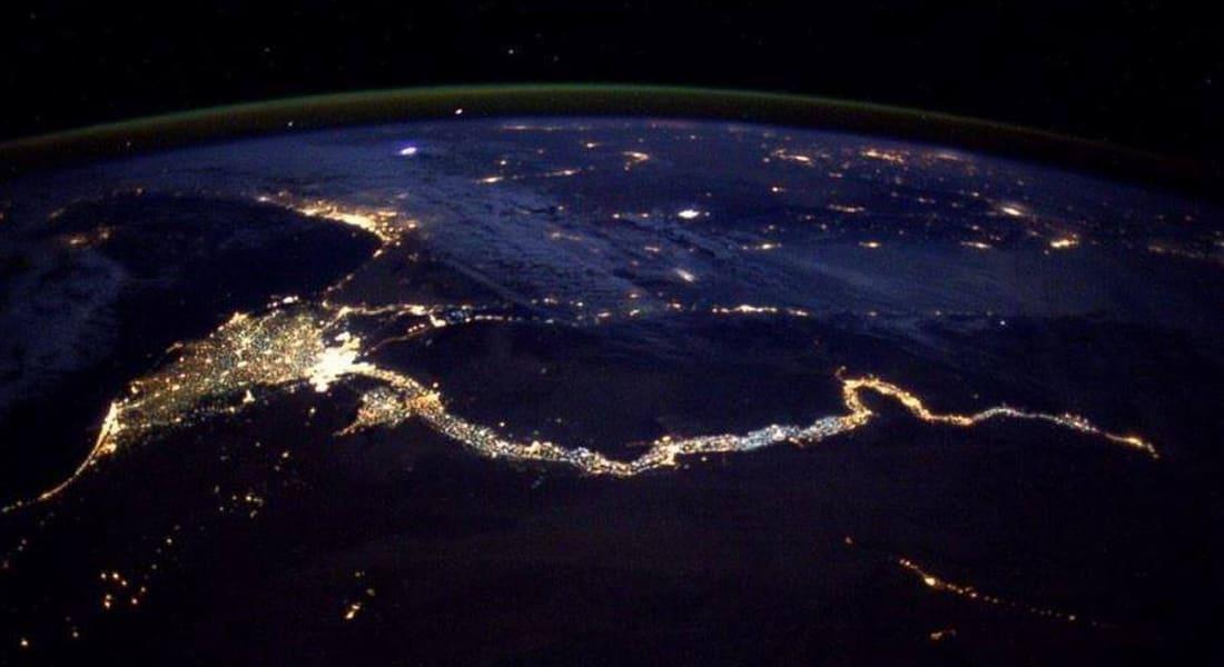 شاهد ربّما أروع صورة لنهر النيل ودلتا مصر حتى الآن