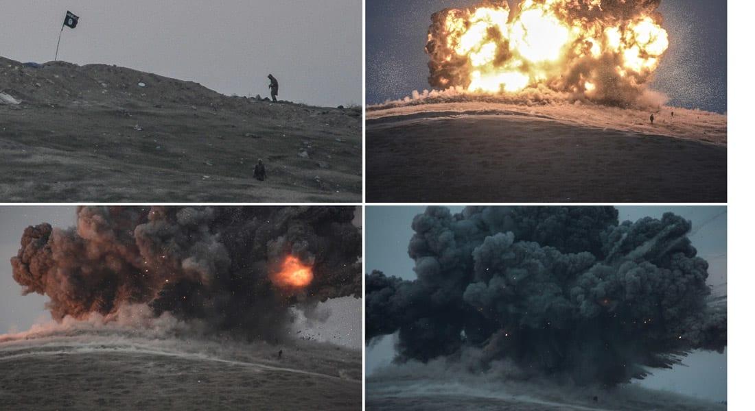 """البنتاغون: 10 غارات ضد """"داعش"""" في سوريا وغارتان في العراق خلال 24 ساعة"""