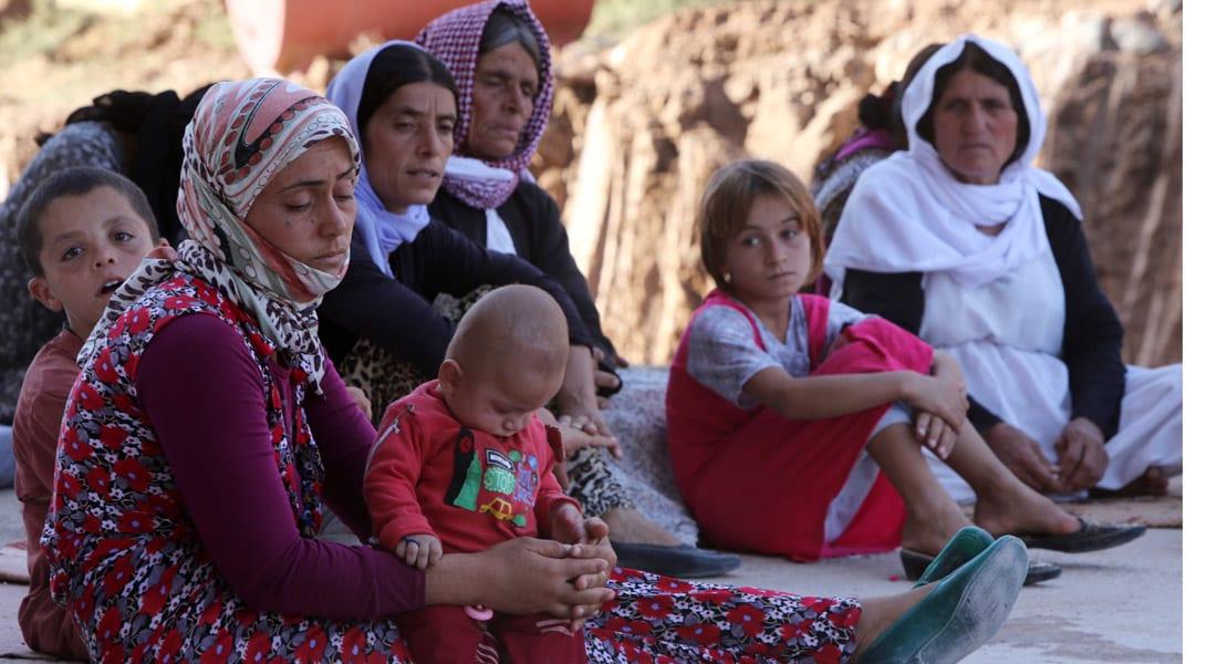 """وفد الأيزيديين لفؤاد معصوم: 3 آلاف امرأة أيزيدية ما تزال بيد """"الإرهاب"""""""