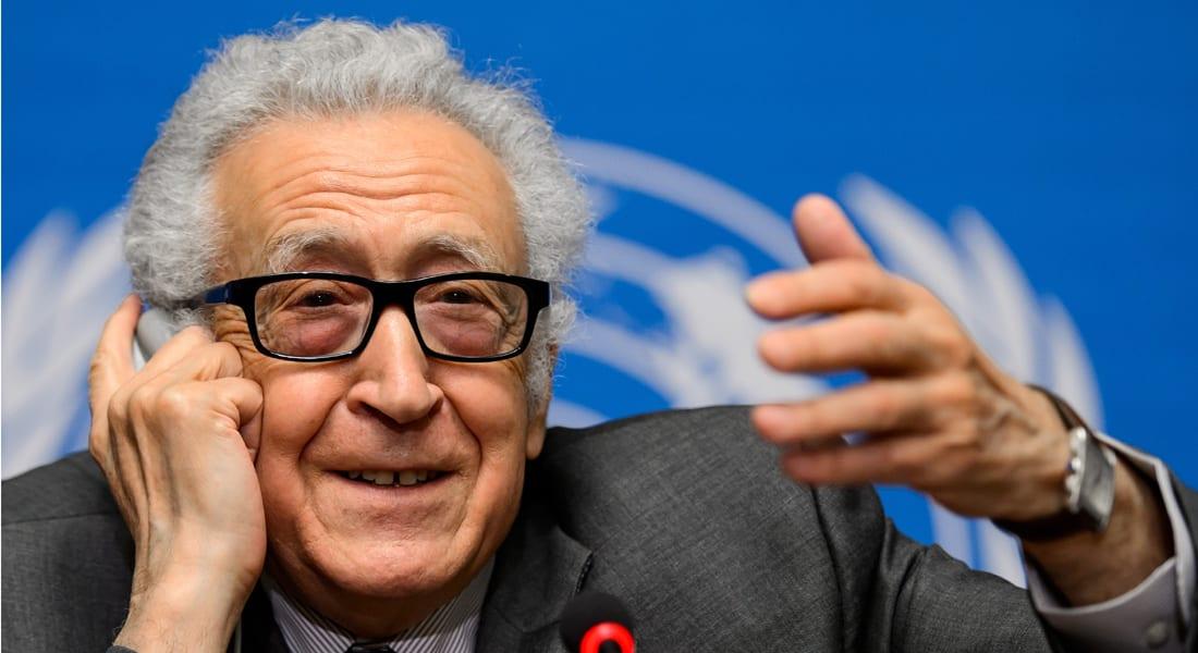 الإبراهيمي: وفدا المعارضة والحكومة السورية يجتمعان السبت