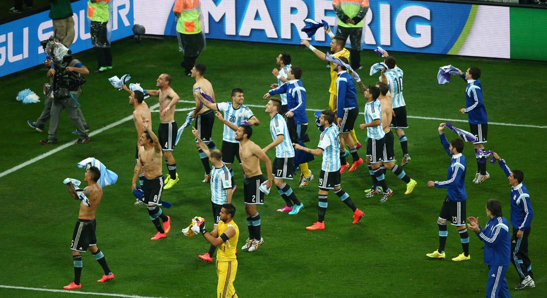 كأس العالم 2014: الأرجنتين تتأهل للدور النهائي بتغلبها بركلات الترجيح على هولندا 4-2