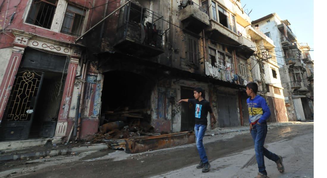 ارتفاع قتلى التفجيرين الانتحاريين في طرابلس إلى 9 وجبهة النصرة تعلن مسؤوليتها