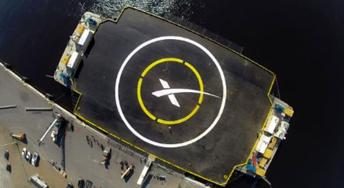 """إطلاق ناجح لـ""""فالكون 9"""".. وعودة """"عنيفة"""" لصاروخ """"سبيس اكس"""""""