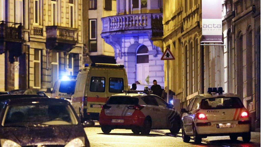"""بلجيكا: مقتل شخصين في هجوم على خلية يعتقد أن """"داعش"""" وجهها لشن هجمات في أوروبا"""