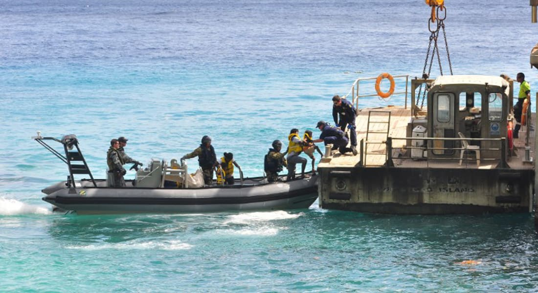 """مضربون عن الطعام في بابوا غينيا الجديدة: """" طلب لجوء سياسي ليس جريمة"""""""