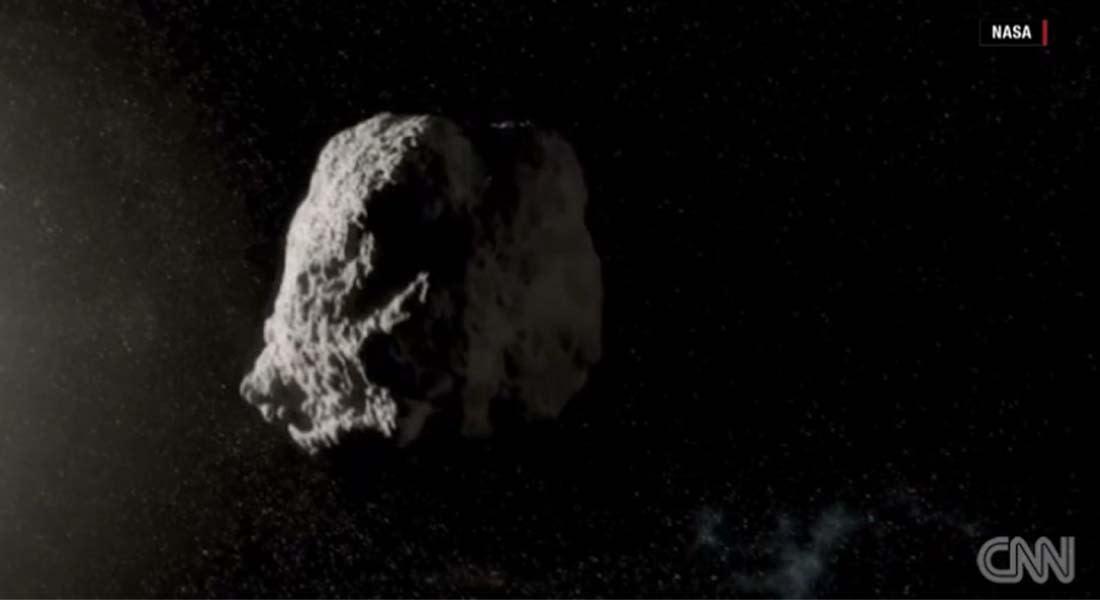 أضخم كويكب يمر قرب الأرض الاثنين