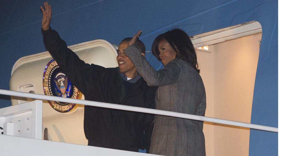 استقبله الملك سلمان .. أوباما في السعودية للعزاء ويتحفظ على فتح ملف حقوق الإنسان
